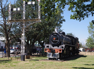 Grass & Wetlands_Class 19D No. 2696 Steam Locomotive as it stands in Voortrekker Park in the town centre of Volksrust_Author DJ
