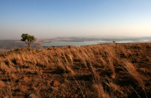 11_Bergville_Spioenkop-Dam-from-above_DPrinsloo